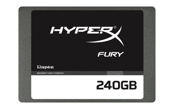 SSD 240GB SATA III - Kingston HyperX Fury