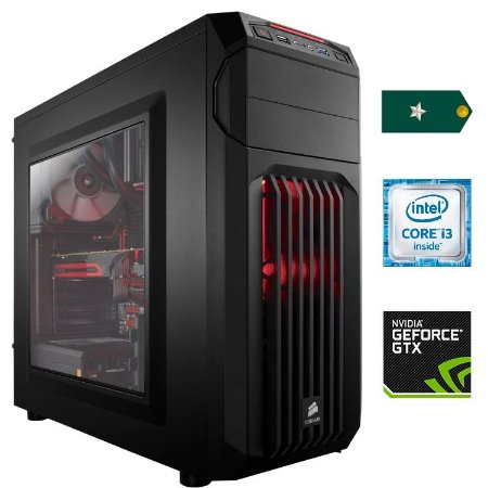 PC Gamer Aspirante - Core i3 3.9GHz / 8GB DDR4 / HD 1TB / GTX 1050 Ti 4GB