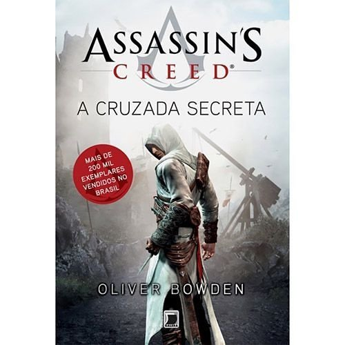 Livro Assassin's Creed A Cruzada Secreta  Vol 3
