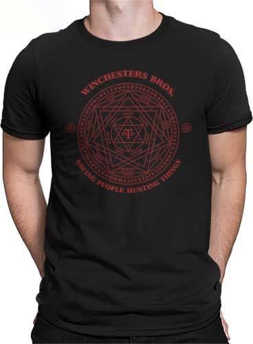 Camiseta Sobrenatural Pentagrama