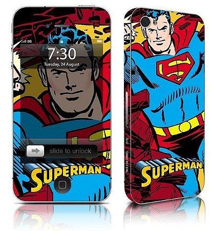 Skin para celular Superman DC Comics Oficial
