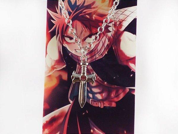 Colar Natsu Dragneel Fairy Tail