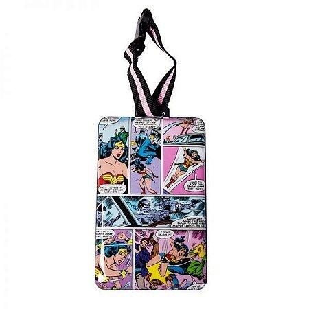 Etiqueta para Mala Mulher Maravilha DC Comics