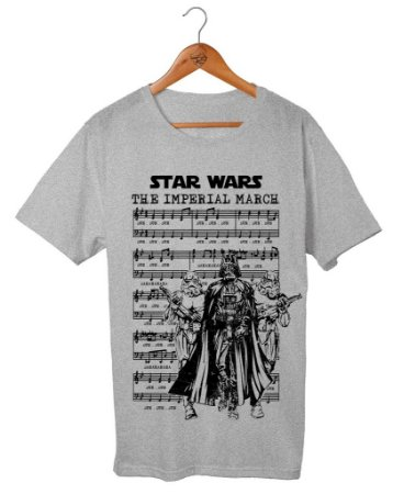 Camiseta Star Wars - The Imperial March