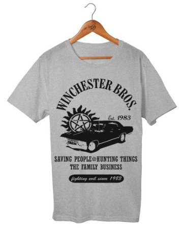 Camiseta Winchester Bros - Supernatural