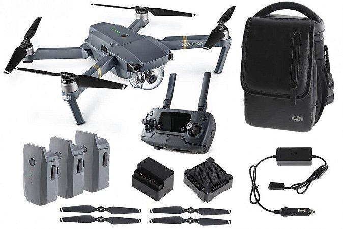 Dji Mavic Pro Combo Fly More com 3 baterias!
