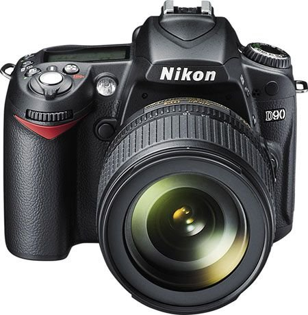 Camera Nikon D90 Muito Nova