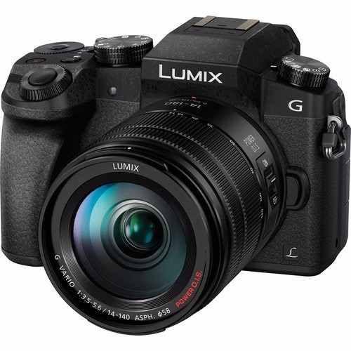 Panasonic Lumix DMC-G7 Lente 14-140mm