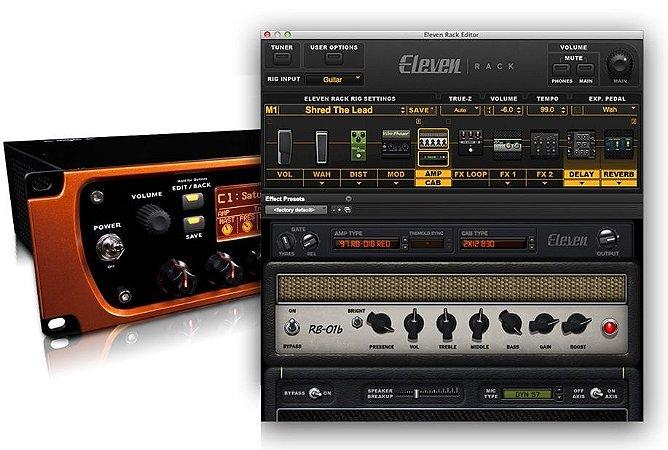 Avid Eleven Rack Audio Interface Pro Tools 11 Ilock