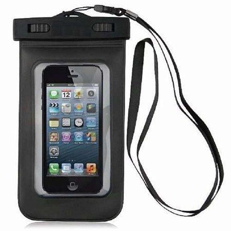 Bolsa Case Capa Prova D`água Estanque P/ Celular Smartphone