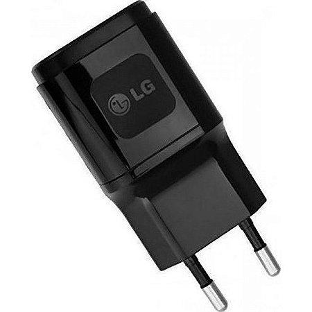 Carregador de Parede Original LG Micro USB com Cabo USB - Preto