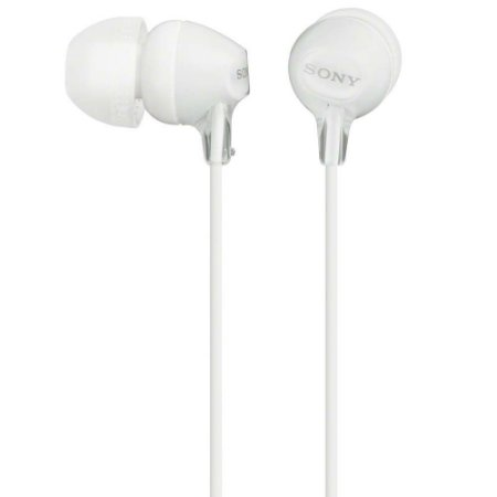 Fone de Ouvido Estéreo Com Fio Sony - MH750 Branco