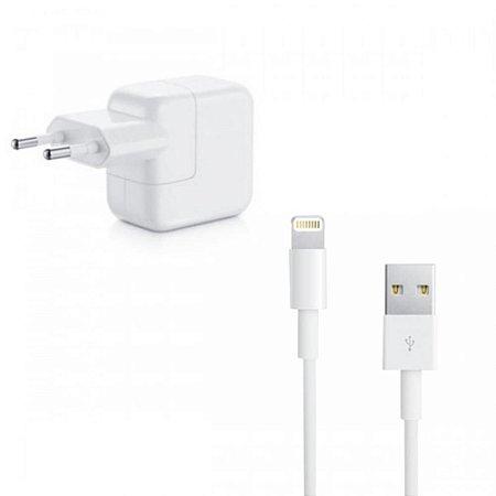 Carregador 10W e Cabo Usb Lightning Para Apple Iphone 5/5S/5C e 6/6s/6 Plus