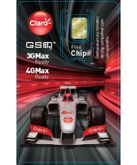Chip Claro Flex Triplo Corte Pré Tecnologia 4G MAX - DDD 83 PB