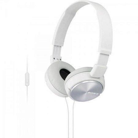 Fone de Ouvido Headphone Sony MDR-ZX320 Com EXTRA BASS Branco