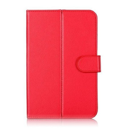Capa Case Para Tablet de 7 Polegadas Vermelho