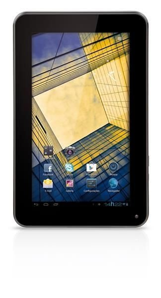 Tablet Multilaser Diamond Lite NB040 - Preto, Android 4.0, Wi-Fi, 4 GB, 1.3 MP