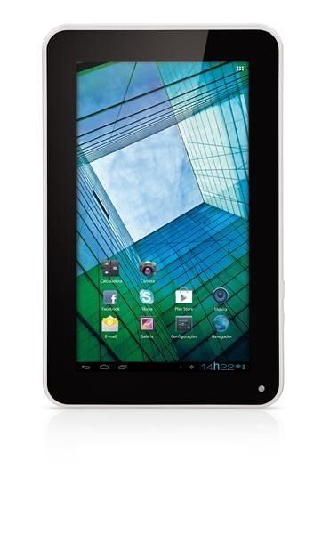 Tablet Multilaser Diamond Lite NB042 - Branco, Android 4.0, Wi-Fi, 4 GB, 1.3 MP
