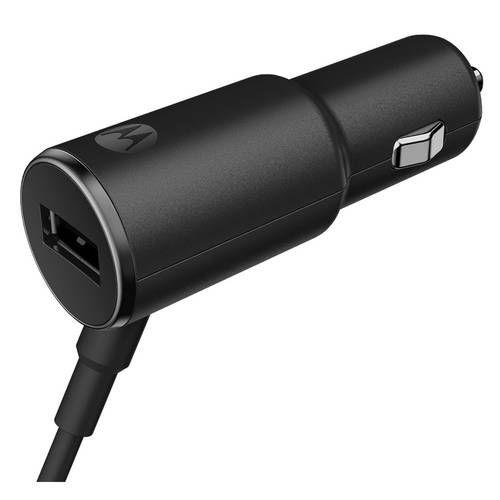 Carregador Veicular Motorola Turbo Power 25W 2 Saídas USB Qualcomm 2.0