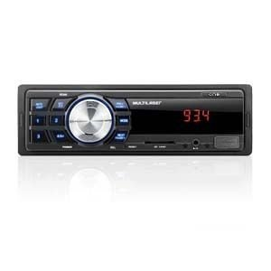MP3 Player Automotivo Multilaser One - FM, USB, SD e AUX