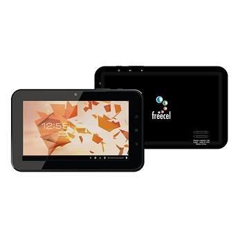 Tablet Freecel Freepad F-704 Preto, Processador Boxchip A10 1.2GHz, 4GB, Wi-Fi, USB, Câmera Frontal