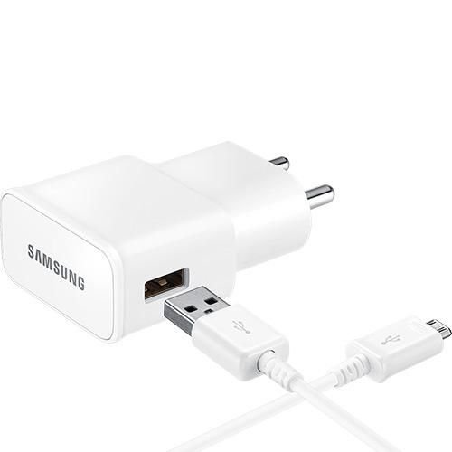 Carregador de Viagem Samsung Ultra Rápido Original - Branco