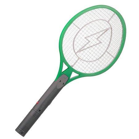 Raquete Elétrica Repelente Contra Insetos e Mosquitos A Pilha