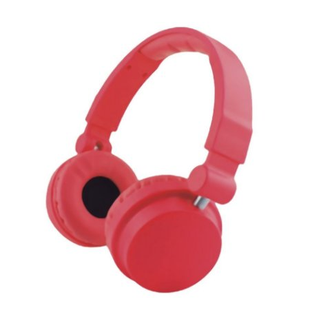 Headphone Cool Colors Leadership com Microfone Vermelho - 2792