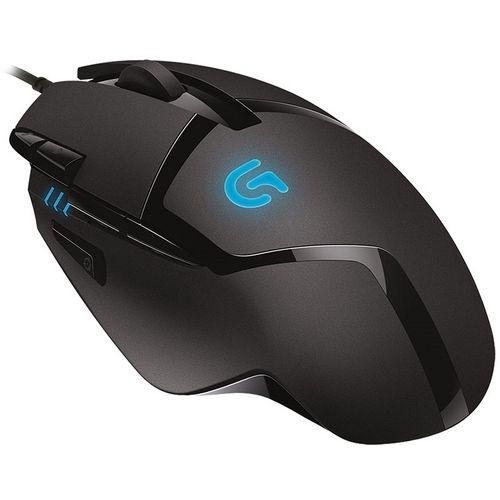 Mouse Logitech Óptico G402 Gamer Hyperion Fury 8 Botões 4000 DPI USB