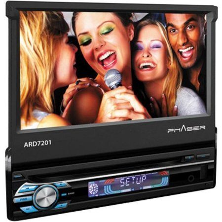 "DVD Automotivo Multimídia Phaser ARD7201 7"" USB/SD com Controle Remoto"