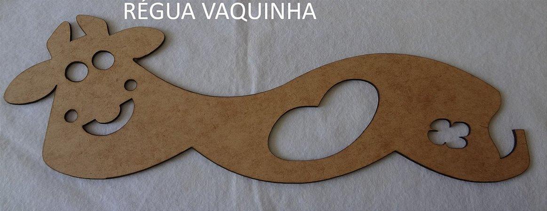 """Régua """"vaquinha"""" para patch aplique e costura com barrado de arcos e onda"""