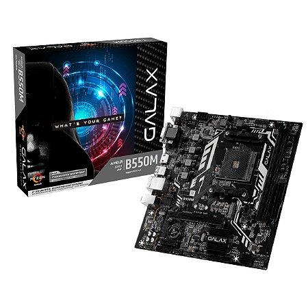 Placa Mãe GALAX B550M AMD Ryzen - Galax