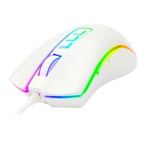 Mouse Gamer Cobra Branco 10000 DPI - Redragon
