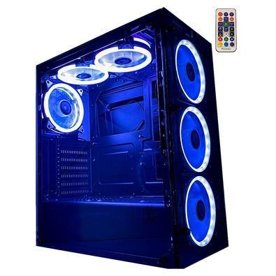 Gabinete Gamer Rise Glass 6 Fan RGB - Risemode