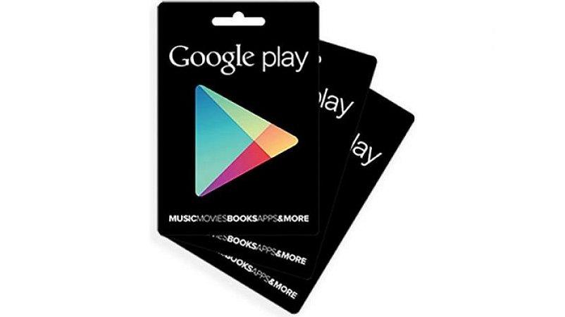 Cartão Gift Card Google Play $300