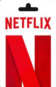 Cartão Gift Card Netflix R$35