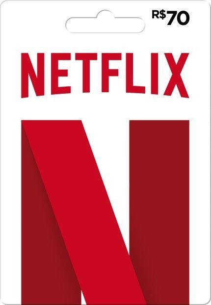 Cartão Gift Card Netflix R$70