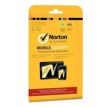 Cartão Gift Card Norton Mobile R$29,90