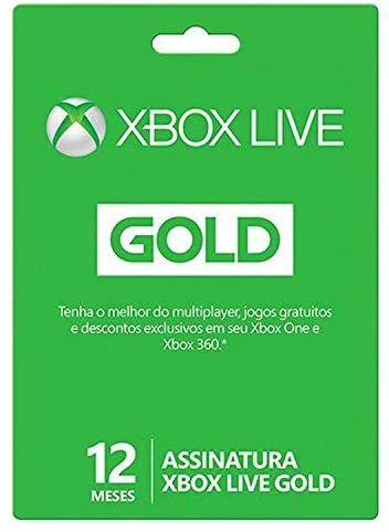 Cartão Gift Card Xbox Live $199,90