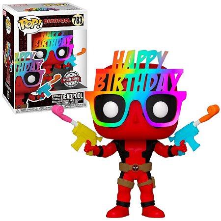 Boneco Funko Birthday Deadpool #783 - Deadpool