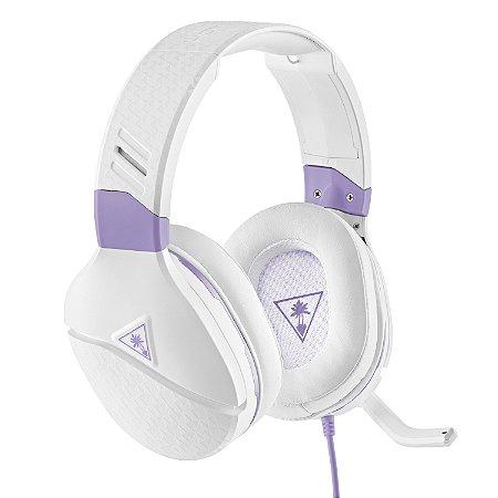Headset Gamer Recon Spark Branco E lilás  - Turtle Beach