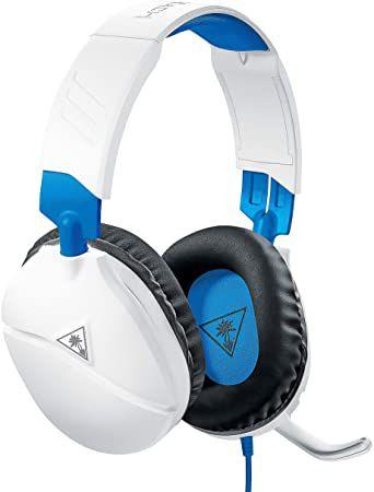 Headset Gamer Recon 70 Branco e Azul - Turtle Beach