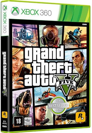 GTA V - Grand Theft Auto V - Xbox 360