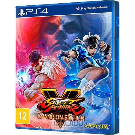 Jogo Ps4 Street FighterV Champion Edition