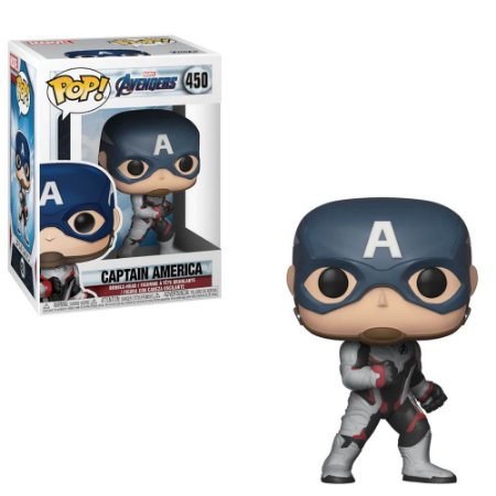 Boneco Funko Avengers #450 - Captain America