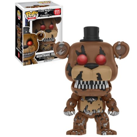 Boneco Funko Nightmare Freddy #111 - Five Nights