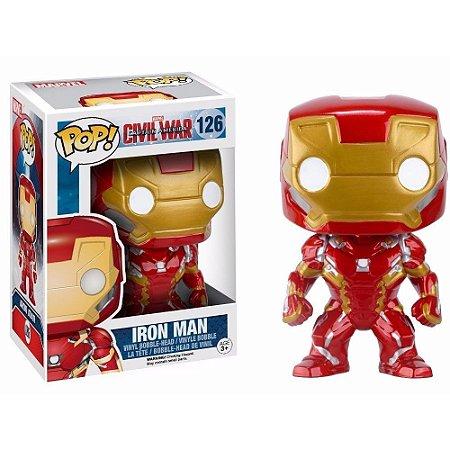 Boneco Funko Pop Iron Man #126 - Civil War