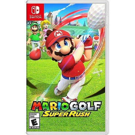 Jogo Mario Golf Super Rush - Switch