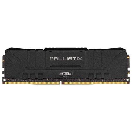 Crucial Módulo de memória 8GB Ballistix 2666MHz PC4-21300 CL16 1.35V DDR4 - Preto