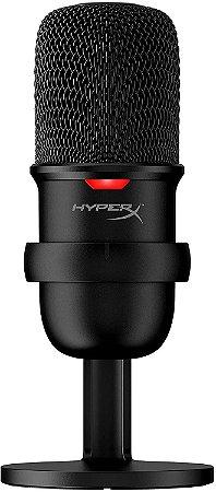 Microfone HyperX Solocast, USB, Compatível PS4, Mac, PC